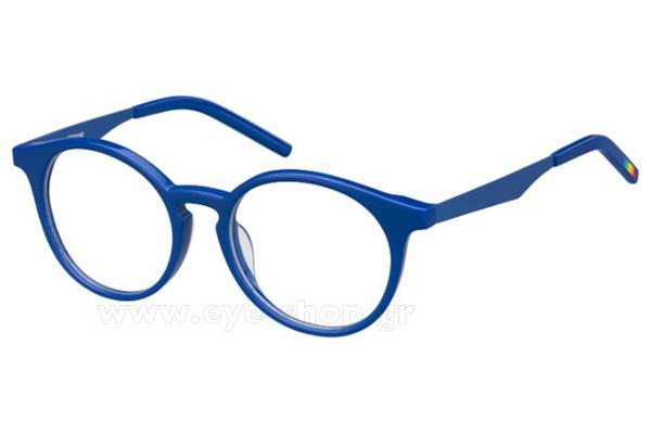 Οπτικά Γυαλιά οράσεως POLAROID PLD D803 24D BLUE size 47 Τιμή  59 1ae751e268b