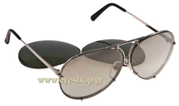 2a54313a55 Γυαλια Ηλιου Porsche-Design P8478 B interchangable size 63 Τιμή  372