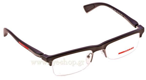 5c95fabe60 Οπτικά Γυαλιά οράσεως Prada Sport 05DV 1BO1O1 size 54 Τιμή  91
