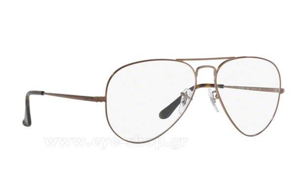 Οπτικά Γυαλιά οράσεως Rayban 6489 Aviator 2531 size 58 Τιμή  84 08fcee52d0e