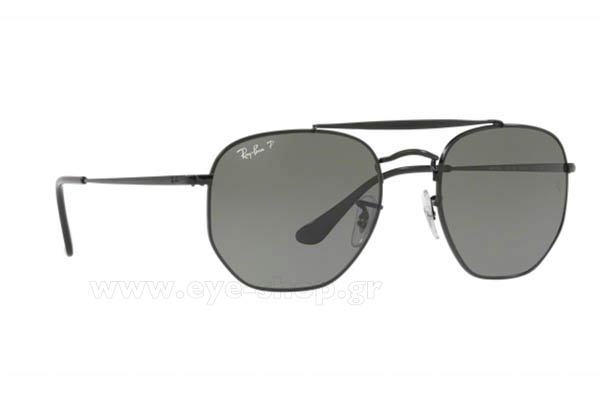 Γυαλια Ηλιου Rayban 3648-THE-MARSHAL 002/58 Hexagonal Double Bridge size 54 Τιμή: 151,93