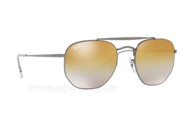 Γυαλια Ηλιου Rayban 3648-THE-MARSHAL 004/I3 Hexagonal Double Bridge size 51 Τιμή: 129,28