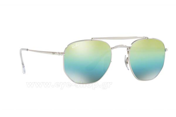 Γυαλια Ηλιου Rayban 3648-THE-MARSHAL 003/I2 Hexagonal Double Bridge size 51 Τιμή: 129,28