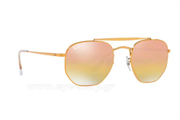 Γυαλια Ηλιου Rayban 3648-THE-MARSHAL 9001I1 Hexagonal Double Bridge size 54 Τιμή: 129,28