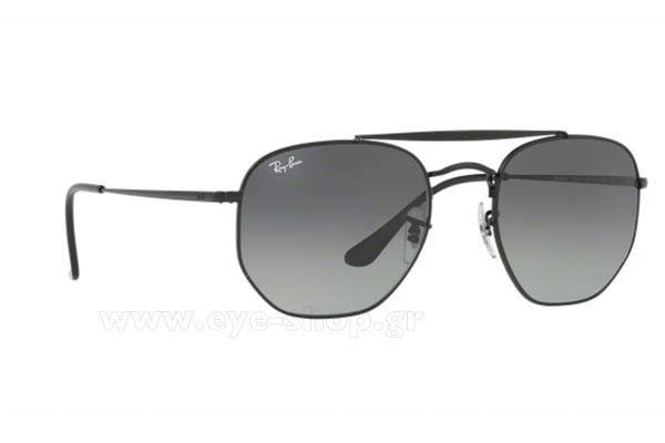 Γυαλια Ηλιου Rayban 3648-THE-MARSHAL 002/71 Hexagonal Double Bridge size 51 Τιμή: 121,75