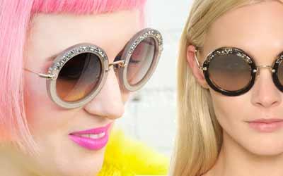 Γυαλιά ηλίου 2019 Τάση  2  Τα στρογγυλά γυαλιά ηλίου 34eddd089ac